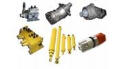 Гидрорули, гидромоторы, гидрораспределители, гидронасосы, насосы, гидроцилиндры, насосдозаторы, распределители